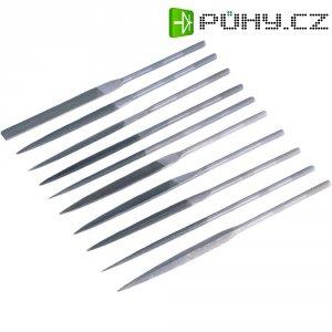 Sada jehlových pilníků Toolcraft 821006, Ø násady 5 mm, 10 ks