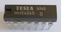 7404 6x invertor, DIL14 /MH5404/