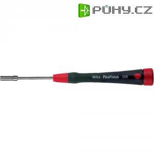 Šroubovák - nástrčný klíč vnější šestihran Wiha PicoFinish 00551, čepel 60 mm, klíč 4 mm, chrom-vanadová ocel