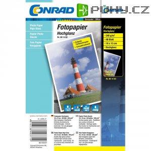 Conrad fotopapír 10X15, 240 g,40 list