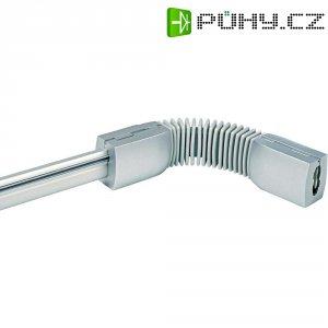 Pružná spojka SLV pro kolejnicový systém Easytec II, 184302, stříbrná/šedá
