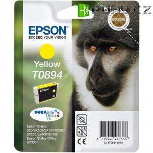 Cartridge Epson T0894, C13T08944011, žlutá