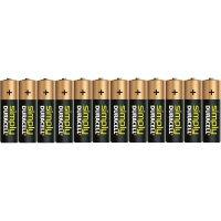 Sada alkalických baterií Duracell Simply, typ AA, 12 ks