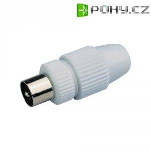 Anténní zástrčka KW-3S, 800301, 7,2 mm, plastová