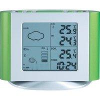 Meteostanice se senzorem pro měření vlhkosti půdy, W 263+ W235, 30 m, stříbrná/zelená