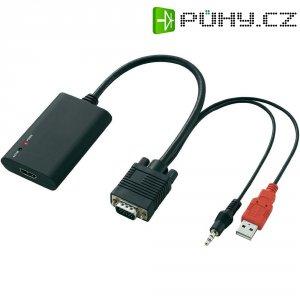AV konvertor HDMI ⇒ VGA