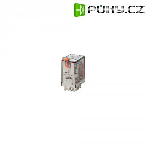 Miniaturní relé série 55,34 s 4 přepínacími kontakty Finder 55.34.8.024.0040, 7 A