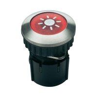 Zvonkové tlačítko podsvícené Grothe Protact 63052, max. 24 V/1,5 A, nerez
