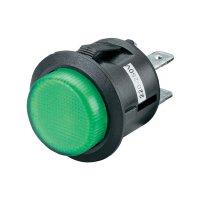 Tlačítko R13-527AL-02 250 V/AC, zelené