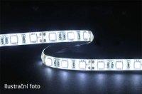 LED pásek 5050 60LED/m IP44 14.4W/m STUDENÁ, cena za 5cm, zalitý