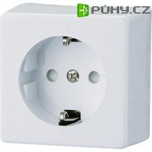 Zásuvka na omítku GAO Prolux 0304, polární bílá