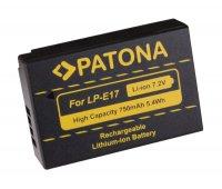 Baterie foto CANON LP-E17 750mAh PATONA PT1250