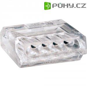 Svorka Wago, 273-255, 1 - 2,5 mm², 5pólová, transparentní