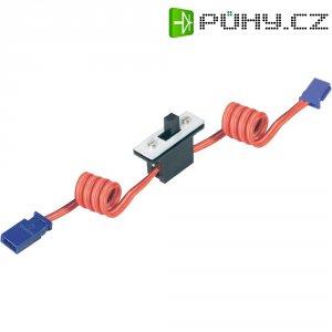 Silikonový vypínač s Futaba konektory Modelcraft, 0,35 mm²