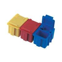 ESD SMD box vodivý Licefa N1-11-11-4-4, (d x š x v) 16 x 12 x 15 mm, žlutá