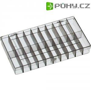 Zásobník na součástky - 20 přihrádek, 296 x 169 x 41 mm