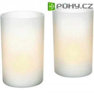 LED svíčka Philips, 7007531PH, 2 ks, bílá