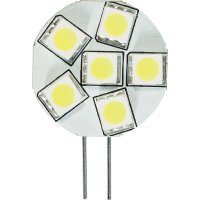LED žárovka Diodor, G4, 1,3 W, 30 V, stmívatelná, teplá bílá