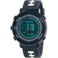 Outdoorové hodinky s předpovědí počasí Weather Master 8, černá