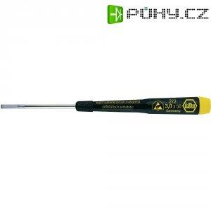 Plochý šroubovák Wiha ESD 07634, 1,5 x 40 mm