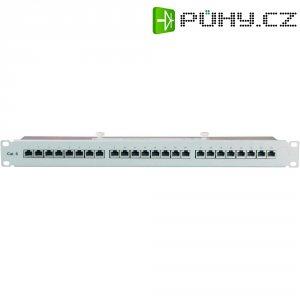 Patch panel Setec CAT 6, 506121, 1 HE, 24x port, 1000 MBit/s
