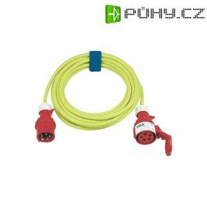 Prodlužovací CEE kabel Sirox s přepínačem fází, 25 m, 16 A, 5G 2,5 mm², žlutá