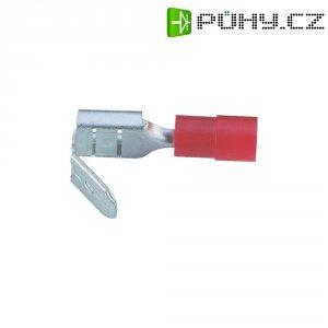 Faston zásuvka s odbočkou Vogt Verbindungstechnik 3925, 6.3 mm x 0.8 mm, červená, 1 ks