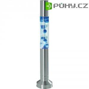 Designová lávová lampa, 25 W, 57 cm, modrá