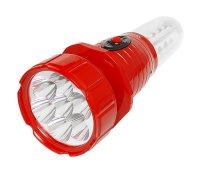 Svítilna kempingová TIROSS TS-798 7+16 LED, nabíjecí červená