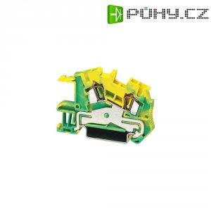 PE svorka Phoenix Contact STI 4-PE (3031966), pružinová, 6,2 mm, zelenožlutá