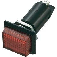 Neonové signalizační světlo SCI, červená, obdélníkové