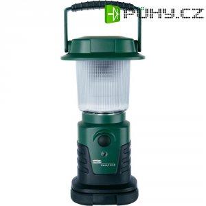 Kempingová LED lucerna LiteXpressCamp 202, zelená