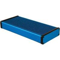 Univerzální pouzdro hliníkové Hammond Electronics, (d x š x v) 220 x 103 x 30,5 mm, modrá