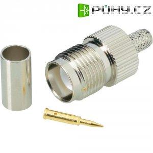 Konektor TNC Reverse BKL Electronic 419403, 50 Ω, zásuvka rovná