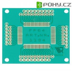 Laboratorní deska s adaptérem pro FP-64 WR Rademacher VK C-1134-EP, 49 x 44 x 1,5 mm, EP