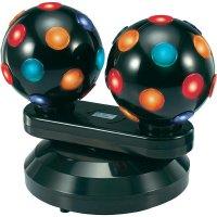 Diskotékový efekt Double Ball Mc Crypt, 2 x 15 W, 298 mm, barevná