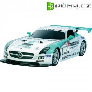 RC model EP Tamiya Mercedes Benz SLS GT3 Petronas TT-01 E, 1:10, 4WD, stavebnice