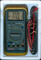 Multimetr RE6810 RANGE, vadný displej, kompletní