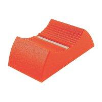 Knoflík na posuvný potenciometr Cliff CP3361, CS9, 4 mm, červená