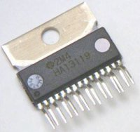 HA13119B - nf zesilovač 2x5,5W, SQL15