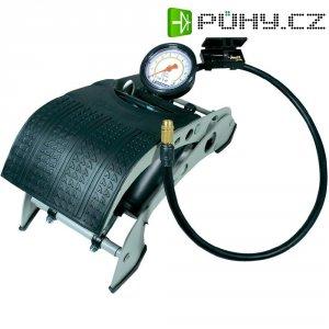 Dvojitá nožní pumpa Michelin smanometrem