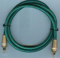 Kabel optický TOSLINK-TOSLINK 7mm/1m DOPRODEJ