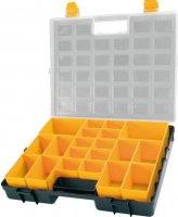 Krabička na součástky 372x314x70mm 20 vyjímatelných sekcí