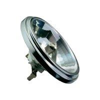 Halogenová žárovka Paulmann, 12 V, 50 W, G53, Ø 111 mm, stmívatelná, stříbrná