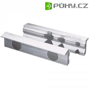 Magnetické čelisti s prizmou Heuer 108120, 120 mm, polyuretan, 2 ks