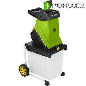 Zahradní elektrrický drtič s boxem 2500W FZD 4020-E FIELDMANN