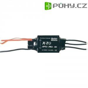 Regulátor otáček Brushless Hacker X-Pro Opto, 8 - 18 NiCd / 2 - 6 LiPo, 70 A, JR