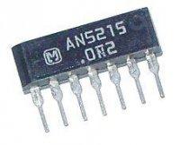 AN5215 TV zvukový obvod, FM detektor,