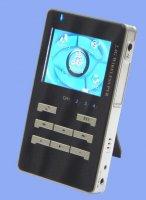 Kamerový vf přijímač se záznamem (4 bezdr, + 1x AV vstup)