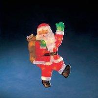 Svítící Santa Claus Konstsmide 2850-000, multicolor